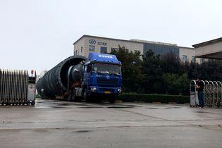 高出5cm禁上高速 40米长大件运输的一天