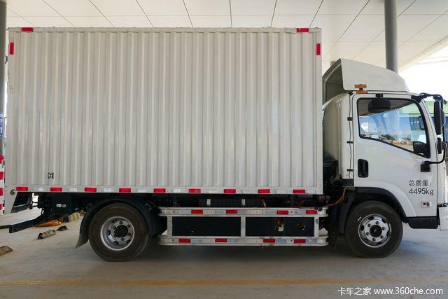 17方大货箱满载还能跑200km 比亚迪T5A电动轻卡为何这么牛?